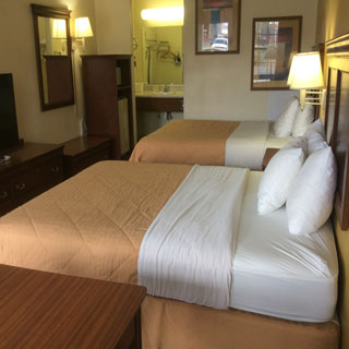 Double Bed at Sylvania Inn